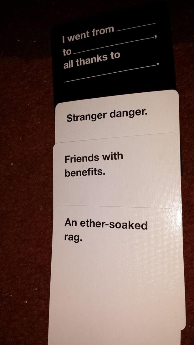 The Best Of Quot Cards Against Humanity Quot 20 Pics