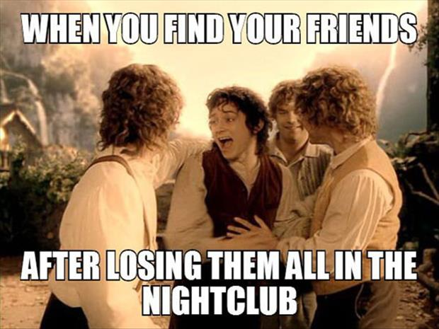 finding your friends