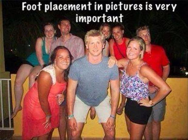 foot placement