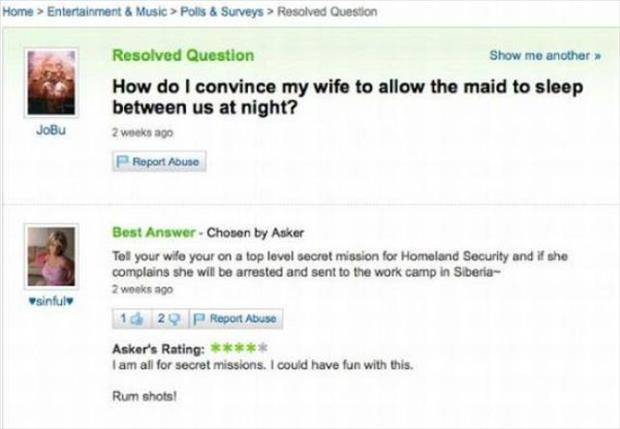 funny yahoo questions (15)