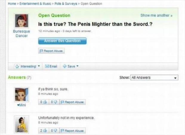 funny yahoo questions (17)