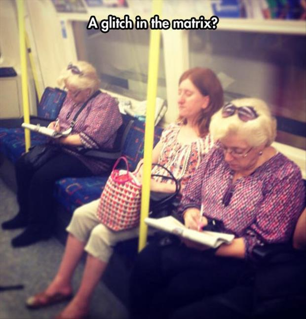 glitch in the matrix