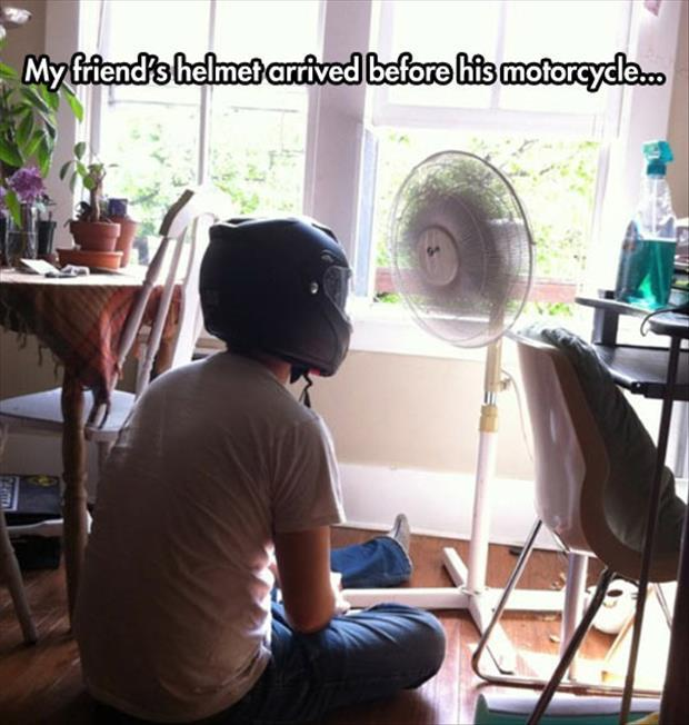 helmet-fan