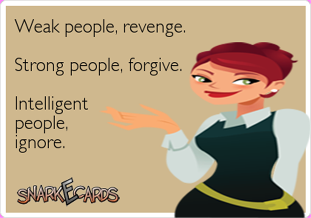 ignore people