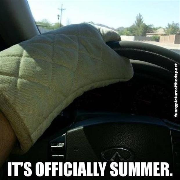 it's officially summer