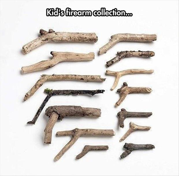 kids fire arm collection