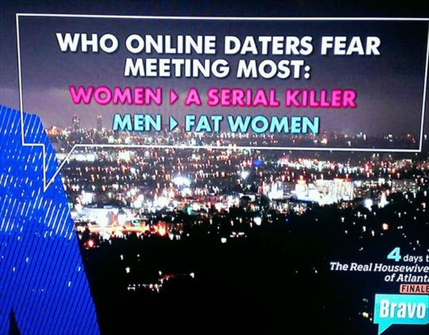 men hate fat women