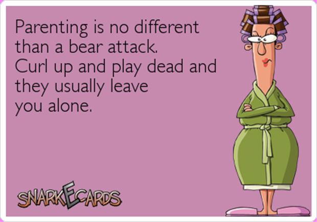 parenting like a bear