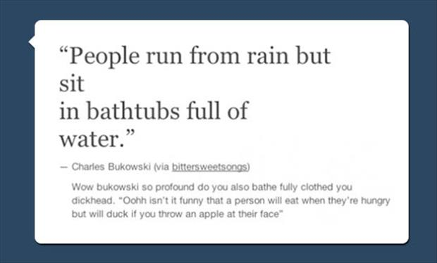 people run from the rain