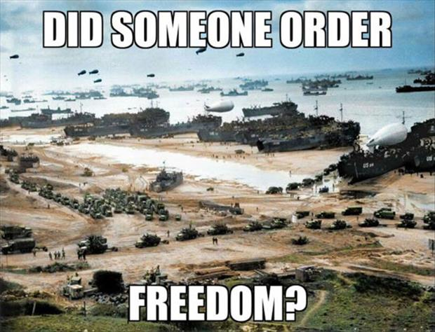 someone order freedom