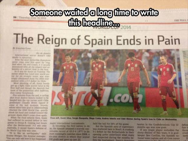 spain in the world cup
