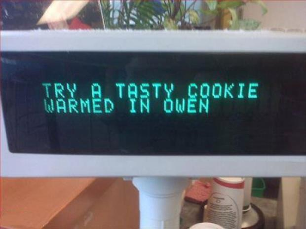 try our cookies