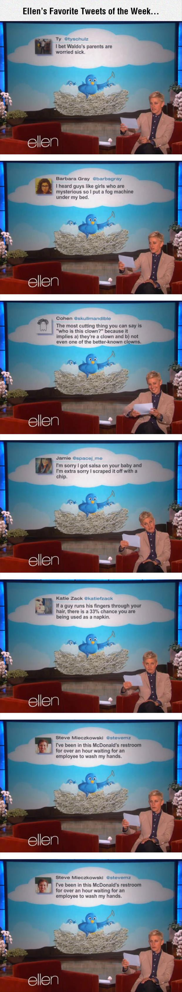 Ellen's favorite twitter quotes
