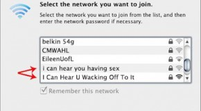 Quite Possibly The Funniest WIFI Names Of All Time – 15