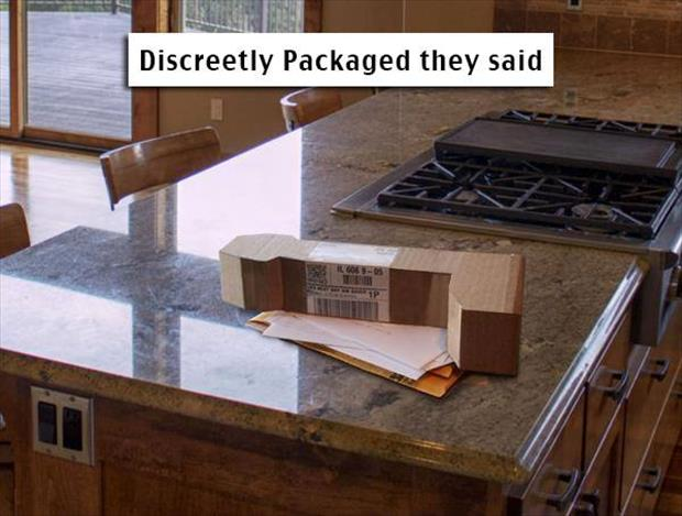 a funny package