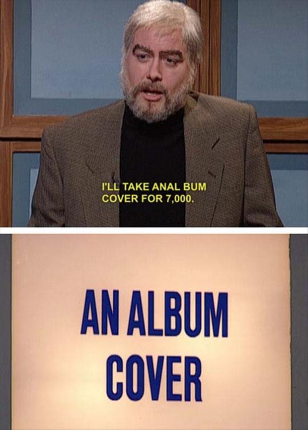 anal bum cover