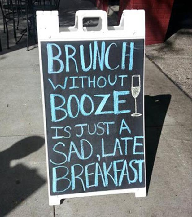 brunch without booze