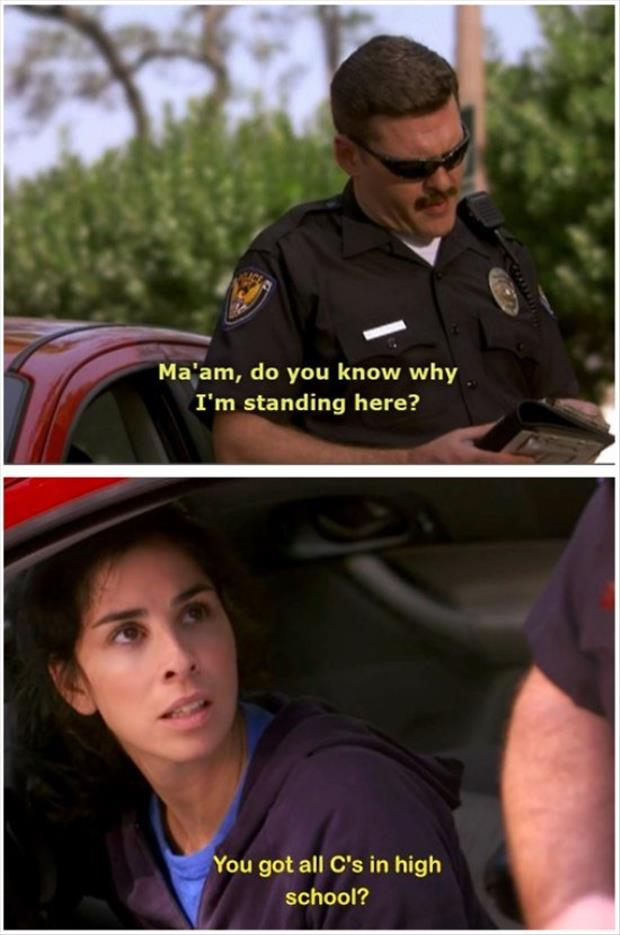 do you know why I pulled you over