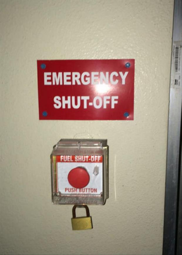 emergency shut off fuel