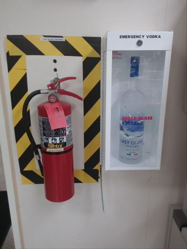 emergency vodka