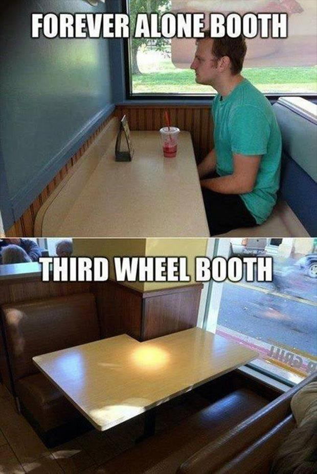 forever alone booth