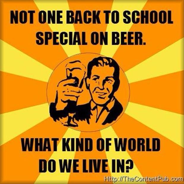 funny back to school specials