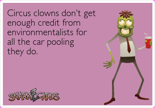 funny circus clowns