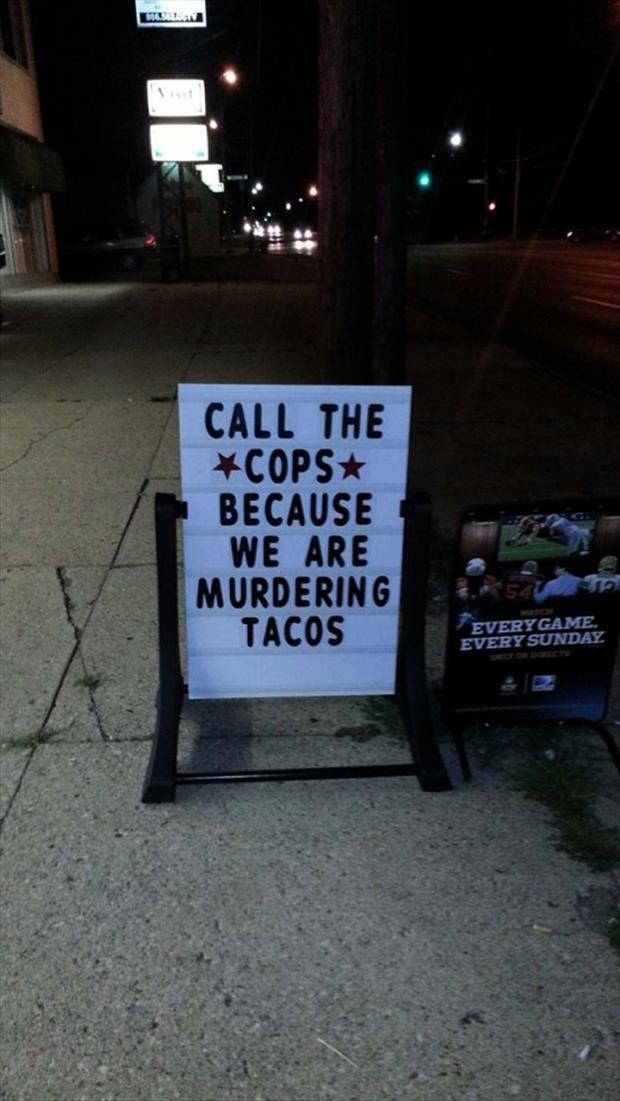 Funniest Restaurant Signs Of The Week - 24 Pics