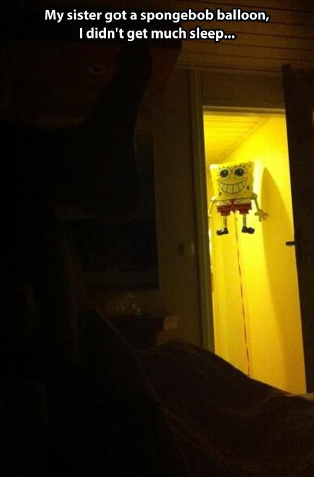funny spongebob balloon