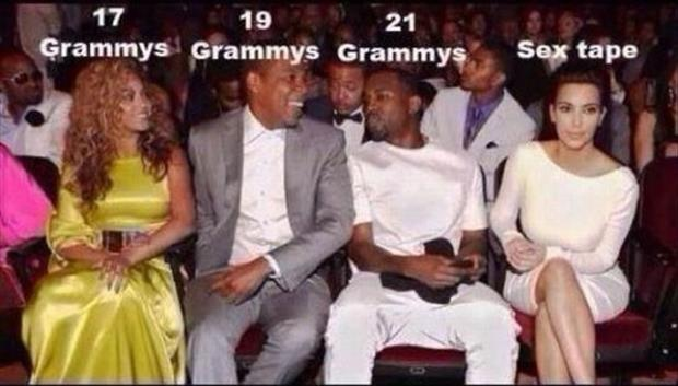 grammy's and sex tape