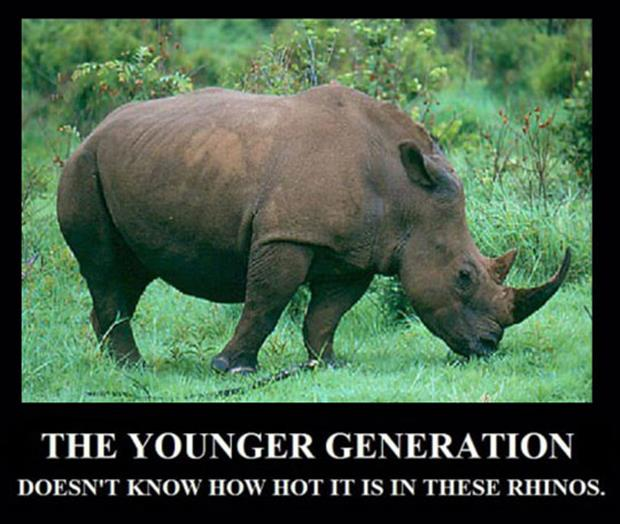 how hot it is in these rhinos