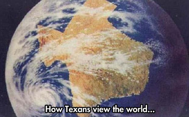 how texans see the world