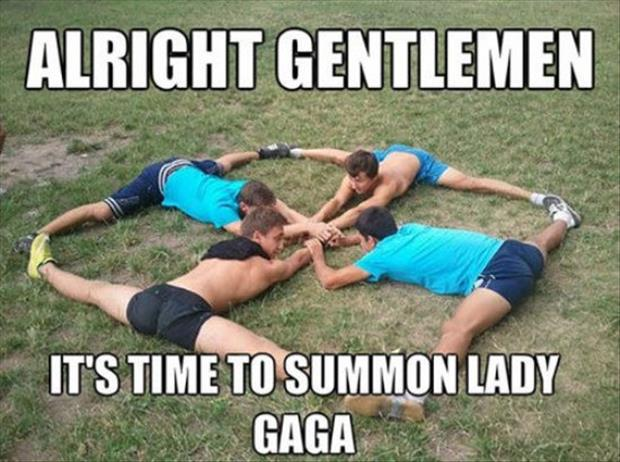 how to summon lady gaga