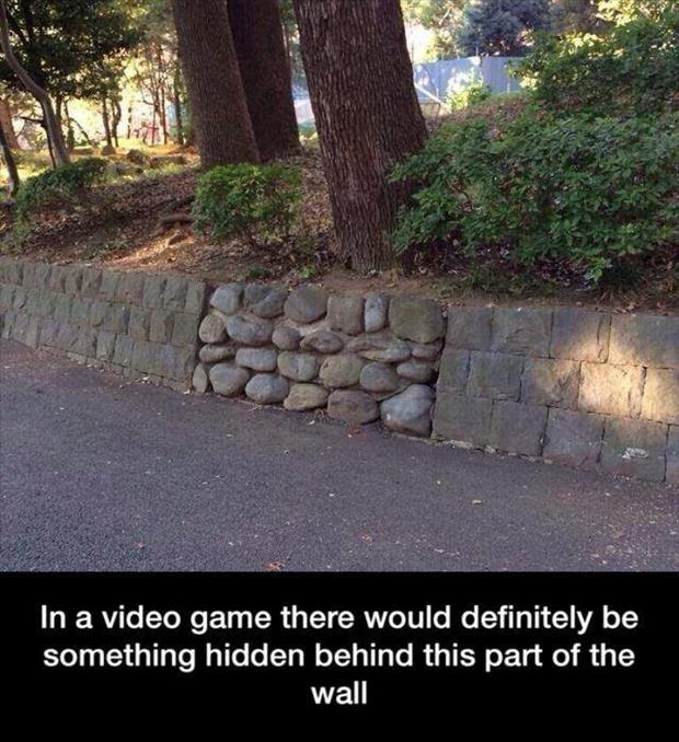 in a video game