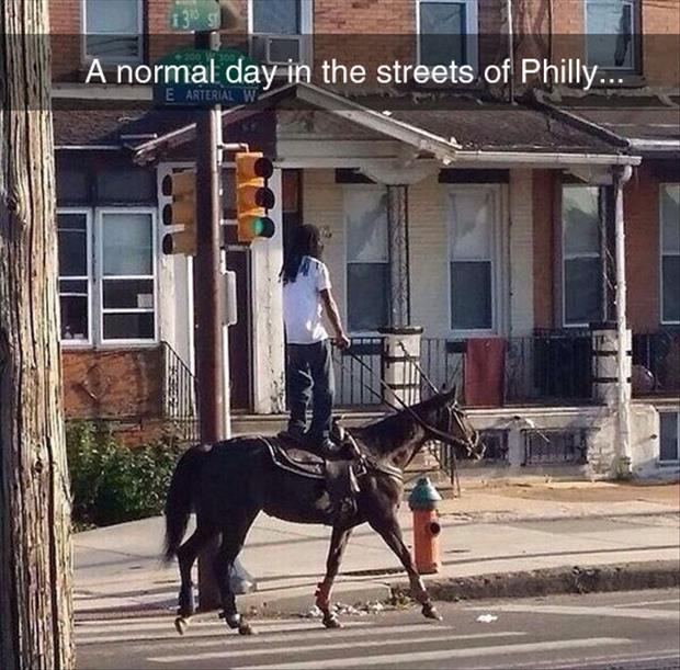 just another day in phillie