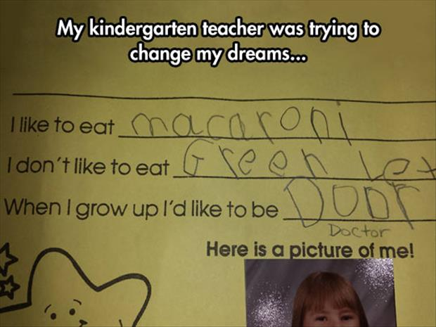 kindergarden teacher