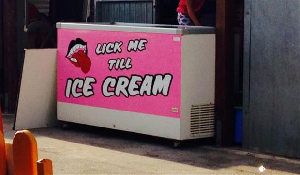 lick me until Ice cream