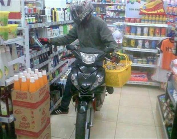 motorcycle shopping