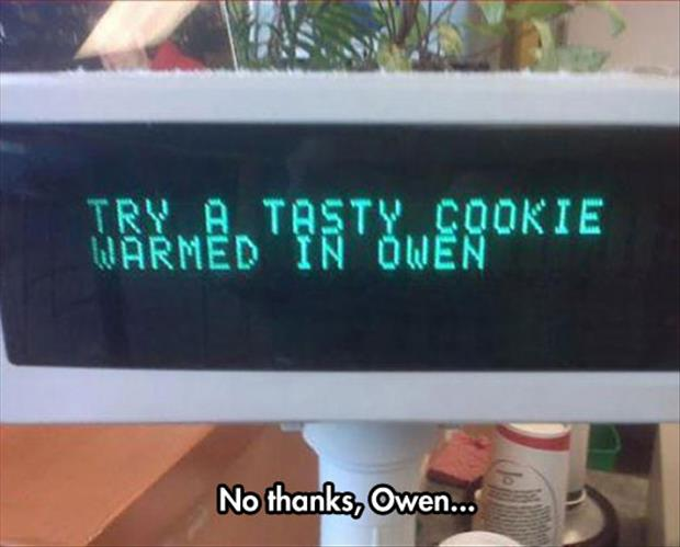 no thanks cookie