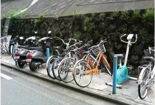 parking my bike
