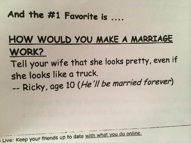 ricky is going to be married for a long time