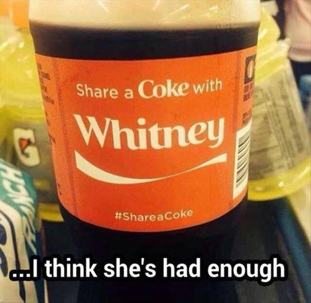 share this coke with whitney