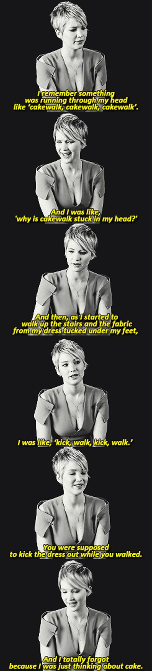 this is why jennifer lawrence tripped