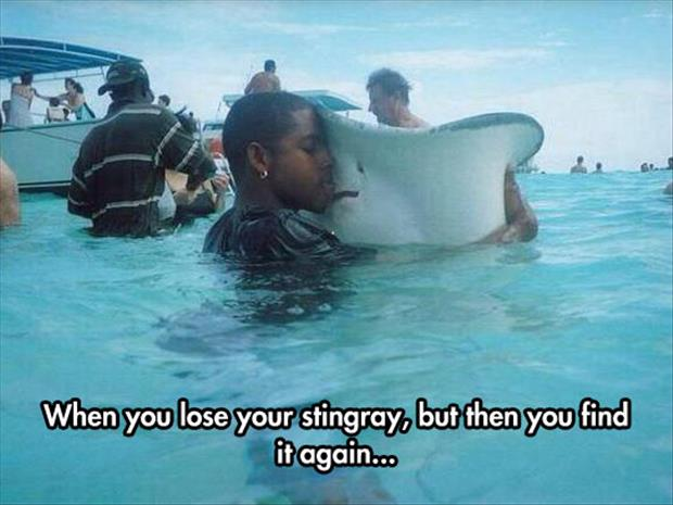when you lose your fish