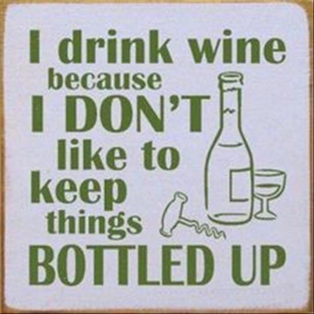 why I drink wine