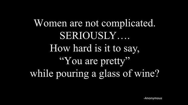 women are not complicated