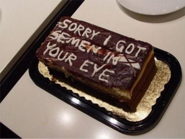 Because Nothing Says Quot I M Sorry Quot Like Cake 20 Pics