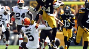 Last Sunday Antonio Brown Karate Kicked The Punter, And The Internet Responded – 10 Pics