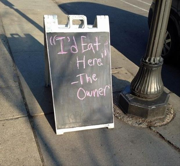 I'd eat here