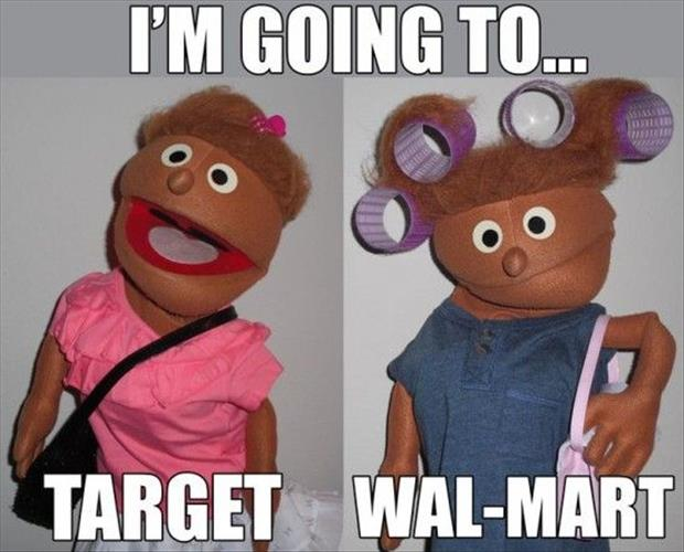 I'm going to target